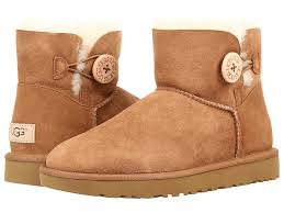 womens ugg boots with buttons ugg mini bailey button ii at zappos com