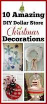 10 diy dollar store holiday decorations