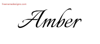 amber archives free name designs