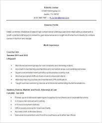 My First Resume Template Teenage Resume Example Simple Examples Of Resumes Human Resources