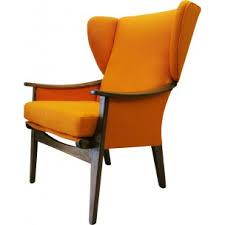 Orange Armchair Orange Mid Century Modern Furniture Design Market