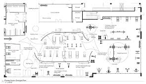 floor plan for gym gym layout design wireless network topology