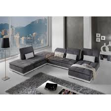 canap cuir contemporain canape cuir et tissu maison design wiblia com