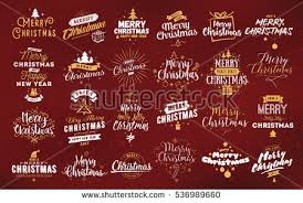 merry christmas logo download free vector art stock graphics
