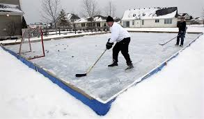 Backyard Ice Rink Kits by Backyard Rinks Not Big Business The Blade