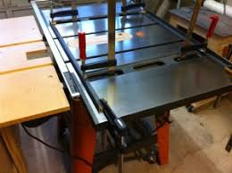 Ridgid Router Table Installing A Cast Iron Router Wing In My Ridgid Ts3650 Making
