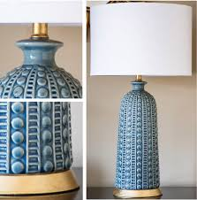 Blue Table Lamp Blue Ceramic Table Lamp Dear Keaton
