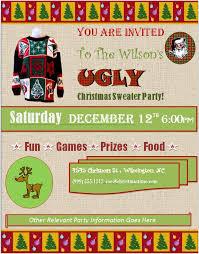 sweater invitation template orax info