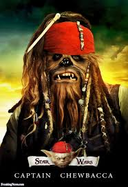 captain chewbacca star wars pirate pictures freaking news