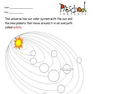 planet orbits worksheet ghost study