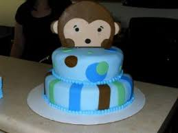 monkey baby shower cake baby shower cakes lovebug s edible designs