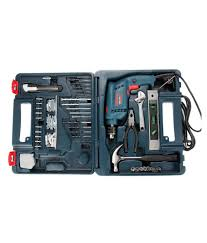 bosch gsb 10re home tool kit with 100 accessories buy bosch gsb