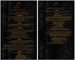 dinner menu template 5 plus printable menu designs