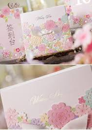 10pcs japanese cute laser cutting wedding invitations card