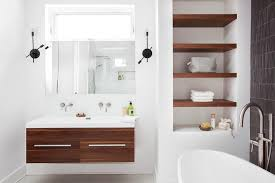 Bathroom Vanity Montreal Montreal Bathroom Vanity Open Shelves Contemporary With Wall