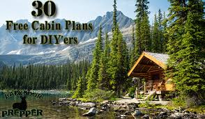 free cabin plans 30 free cabin plans for diy ers