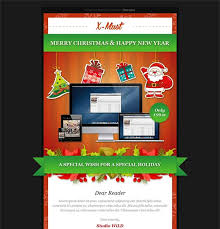 9 best more christmas holiday landing page u0026 email newsletter