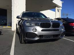 Bmw X5 Grey - space gray ivory nappa x35i m sport delivered