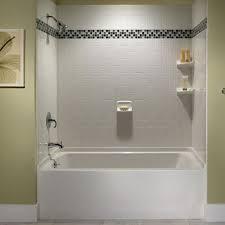 bathroom tub tile designs 29 white subway tile tub surround ideas and pictures