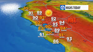 Map Of San Francisco Area by 9 Bay Area Cities Set Heat Records Abc7news Com