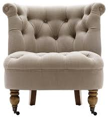 Armless Accent Chair Slipper Accent Chairs Chairs Top Slipper Chair For Astounding