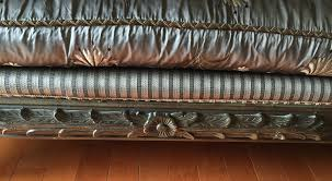 Vintage Modern Furniture Los Angeles Vintage French Country Couch With 6 Pillows Chairish Image Of