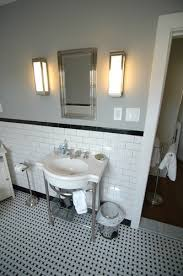 114 best black u0026 white bathrooms images on pinterest bath