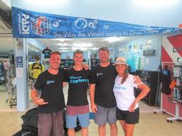 open water course padi at the similan islands learn diving