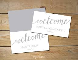diy place cards printable place cards silver diy place cards grey place cards