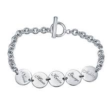 personalized bracelets for personalized bracelets for jewelry watches jcpenney
