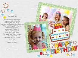 birthday collage maker make happy birthday photo collage from