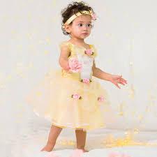disney baby gold u0027belle u0027 disney princess dress up costume