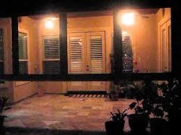 motorized clear vinyl plastic patio screen san antonio texas youtube