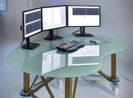 Computer Desk For Multiple Monitors How To Connect One Cpu To Multiple Monitors Ebay