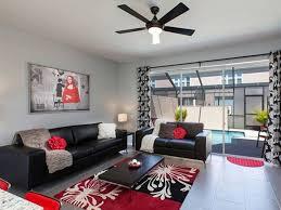 48 best red white black decor images on pinterest living room