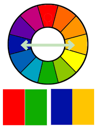 opposite colours d source colour interaction and color effects visual design