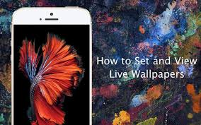 wallpaper hp yang bergerak how to set live wallpapers on iphone 6s and iphone 6s plus iphone