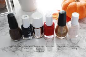 of life and style fall nail color favorites