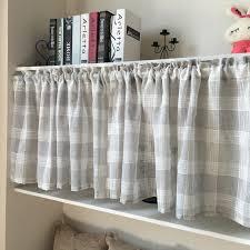 rideaux cuisine gris bande cuisine rideau court rideau de la feuille pour la cuisine