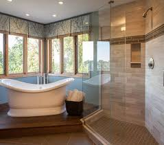 bathroom great ideas for bathroom decoration with doorless shower