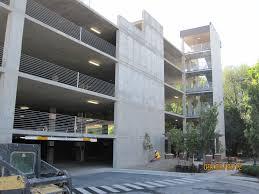 cast in place concrete parking garage