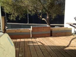 Deck Railing Planter Box Plans by Large Planter Boxes Designs Ideas Newest Contemporary Privacy