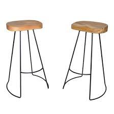 natural wood bar stools target