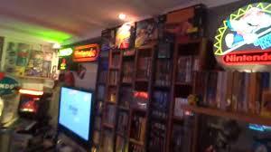 my game room tour 2014 nintendo youtube