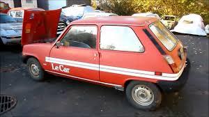 renault car 1980 renault lecar youtube