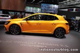 renault megane 2017 2018 renault megane r s side at iaa 2017 indian autos blog