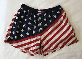 American Flag Swimming Trunks Vintage Tommy Hilfiger American Flag Boxer Shorts Size Xl 90s