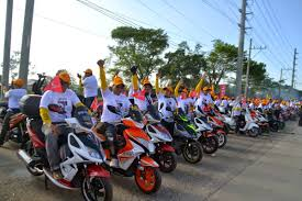 philippine motorcycle trail and urban rider telly buhay guiness world record largest
