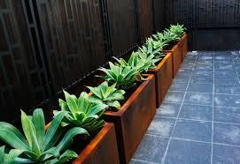 custom made steel planters http plrdesign com au planter boxes