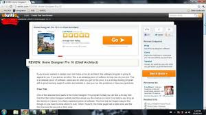 review of home designer pro10 software video summary youtube